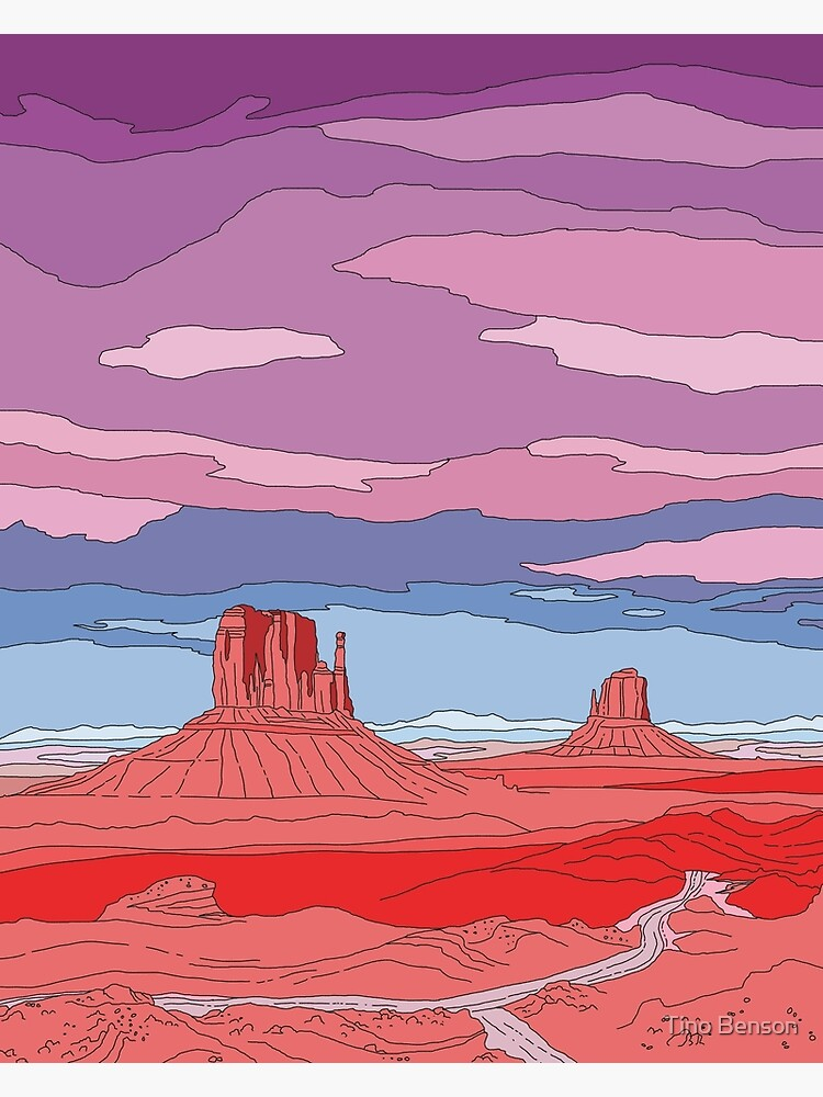 Monument Valley by dukeofgarbanzo
