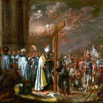 Juan de Valdés Leal The Exaltation of the Cross by pdgraphics