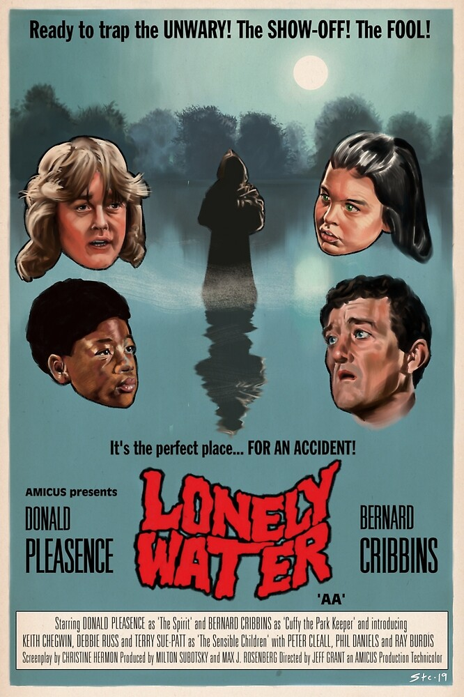 Lonely Water Film Poster by Stephen Brotherstone