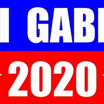 Tulsi Gabbard for President 2020 Sticker Decal Shirt Mug by merkraht