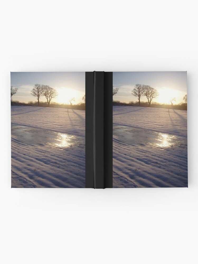 Alternate view of Dalmeny Winter Sun Hardcover Journal