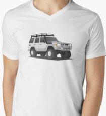 LandCruiser Wagon Men's V-Neck T-Shirt