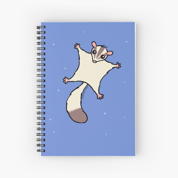 Sugar Glider Spiral Notebook
