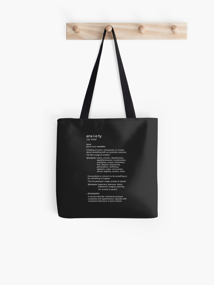 anxiety | Tote Bag