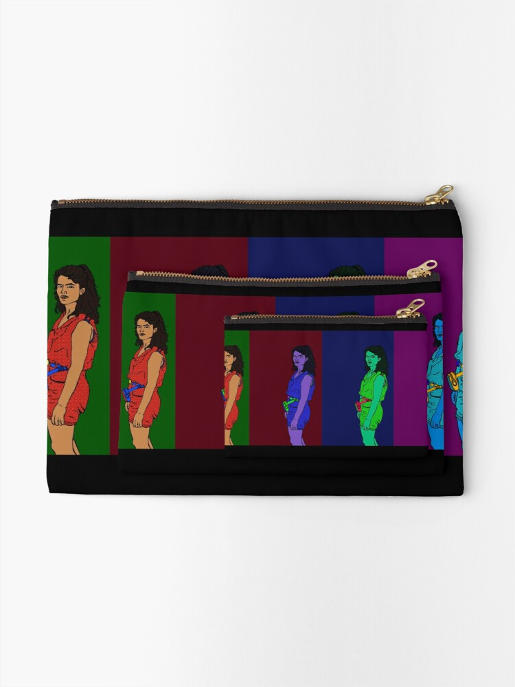 Alternate view of Lady of the 80s Zipper Pouch