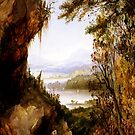 Scene on the Hudson (Rip Van Winkle)-James Hamilton by LexBauer