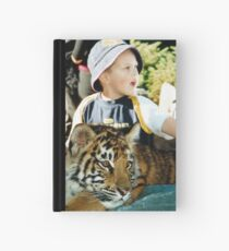 A Boy and his Tiger Hardcover Journal