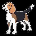 «Beagle, perro, dibujo» de nijess