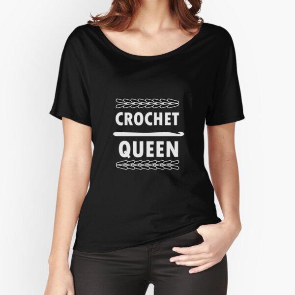 Crochet Queen Relaxed Fit T-Shirt