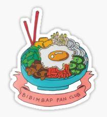 Bibimbap fan club Sticker