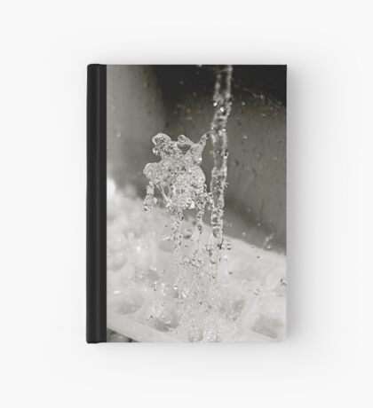 Water goes down, fat man jumps up Hardcover Journal