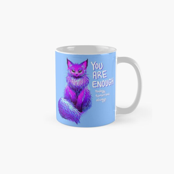 YOU ARE ENOUGH Magical Maine Coon Cat Classic Mug