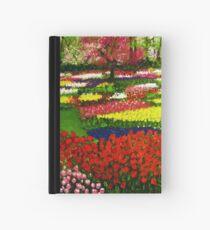 Spectacular Netherlands Tulips Garden Hardcover Journal