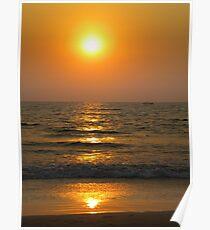 Goan Sunset Poster