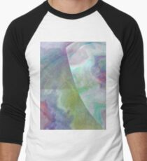 ryu-kyu-iro-inspired pattern Men's Baseball ¾ T-Shirt