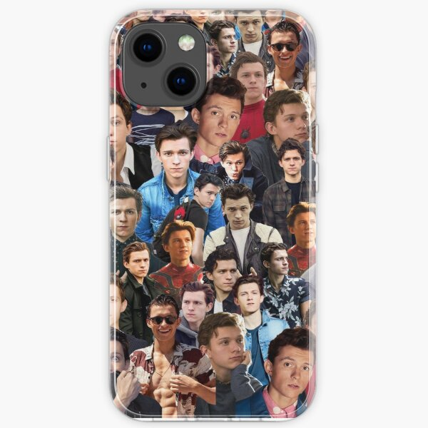 Tom Holland Collage iPhone Flexible Hülle