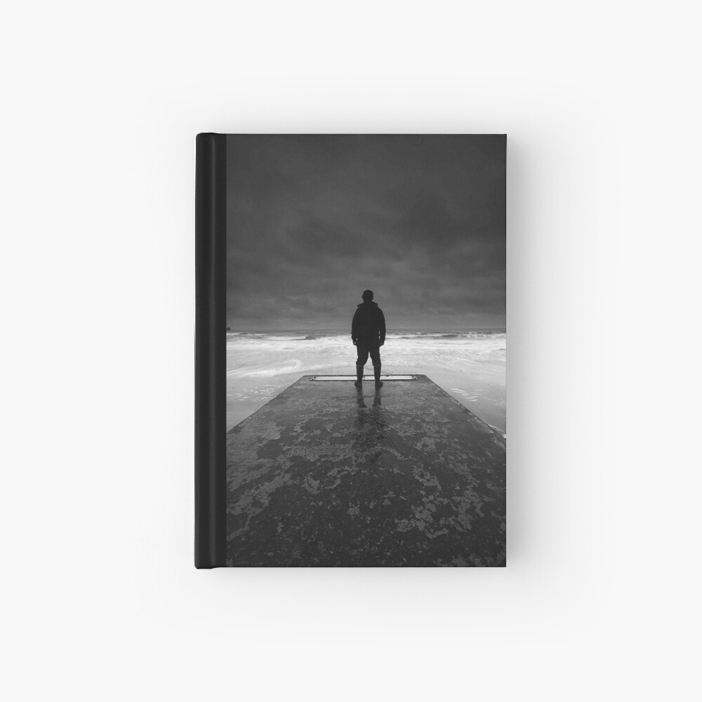 The jetty Hardcover Journal
