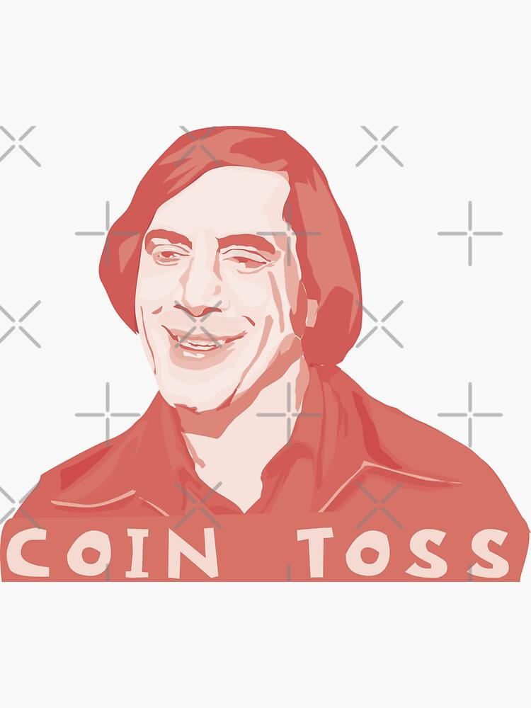 Anton Chigurh - coin toss by mayerarts