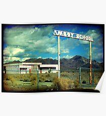Amboy School Poster