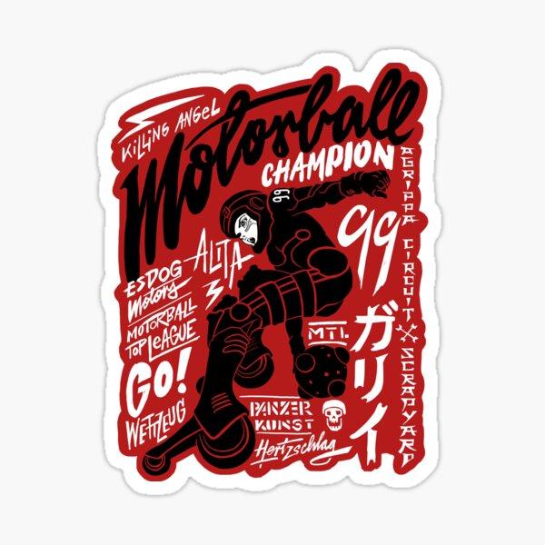 Motorball Alita Sticker