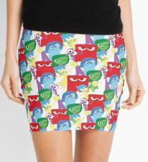 Inside Out Pattern Mini Skirt