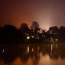 Foggy Dawn at Ringwood Lake #1 by Jason Green