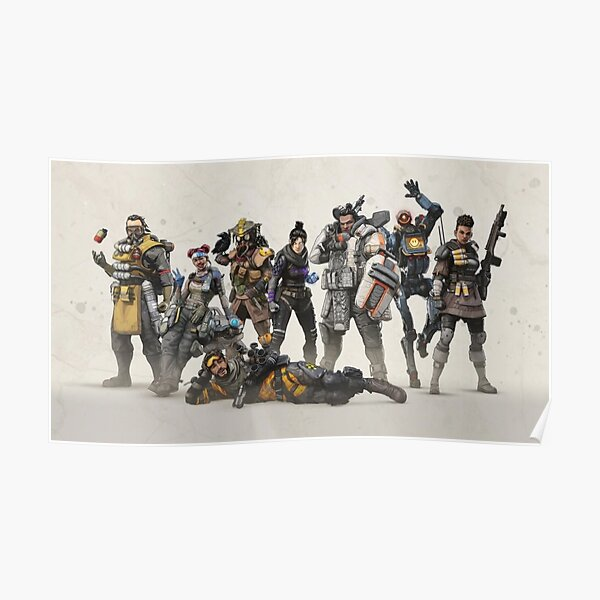 Apex Legends Champions Design Poster