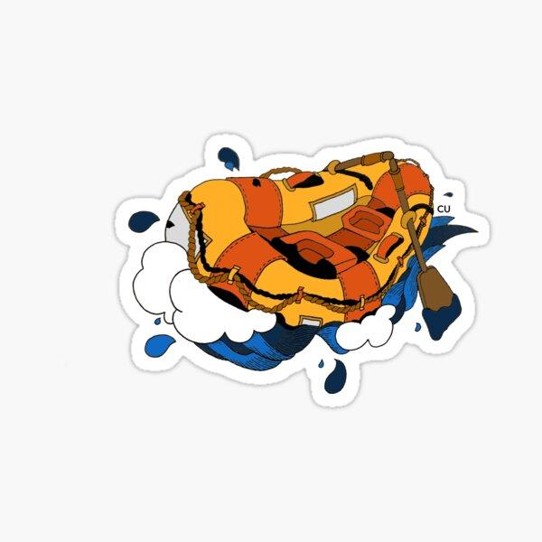 Rafting  Sticker