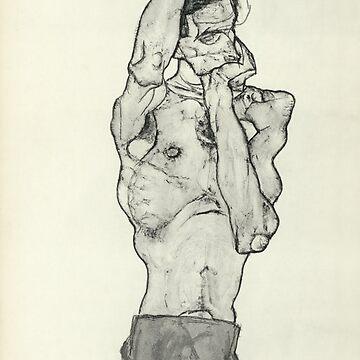 Zeichnungen II By Egon Schiele 1914 by historicalstuff