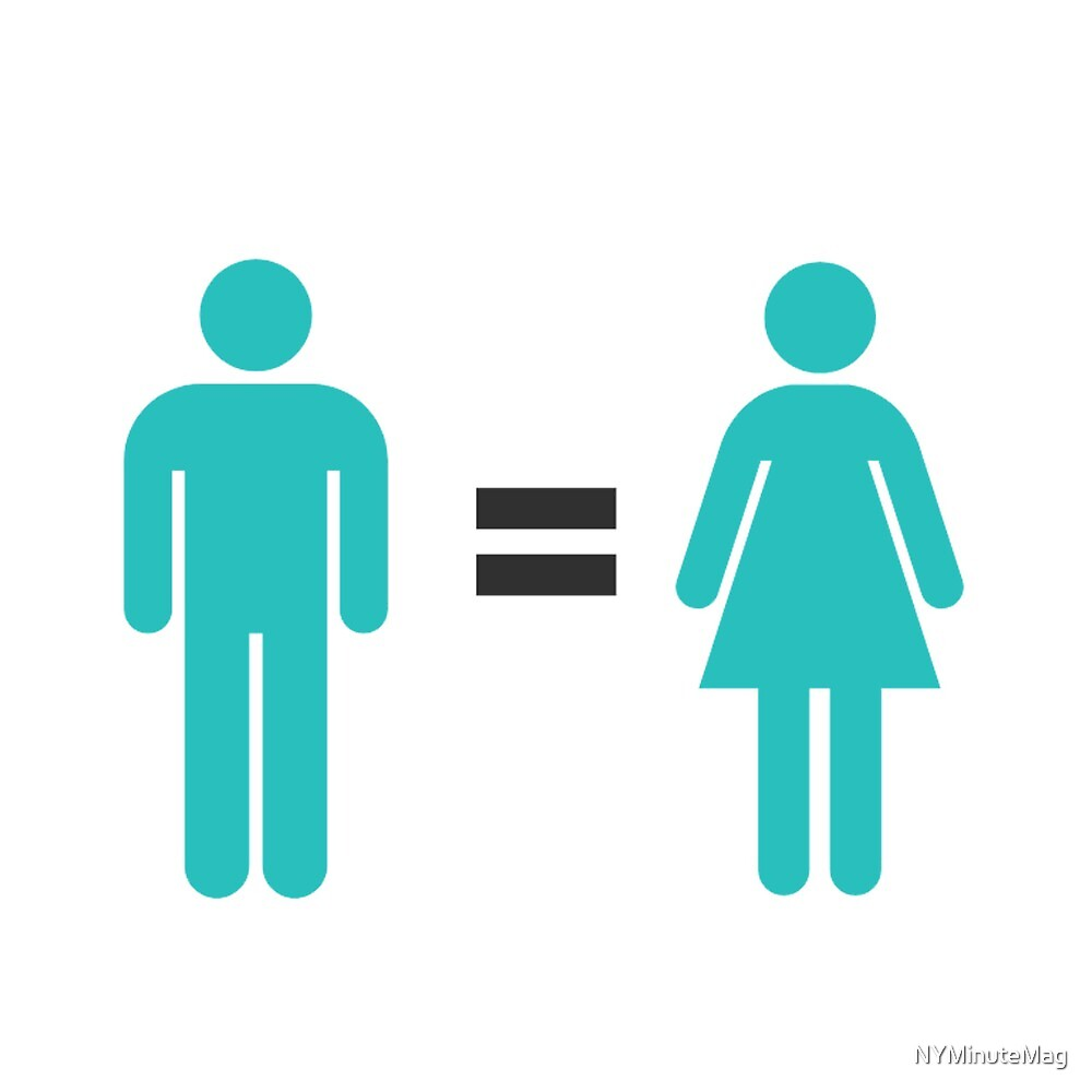 Man = Woman by NYMinuteMag