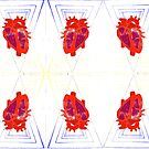 Anatomical Heart and Triangle Pattern by MsSexyBetsy