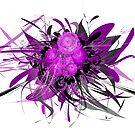 Lilac flower white by mjvision Mia Niemi by mjvisiondesign