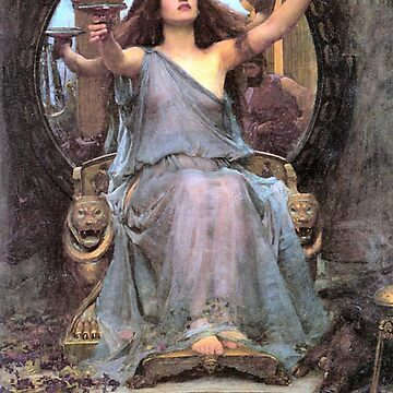 John William Waterhouse Circe Offering the Cup to Ulysses by historicalstuff