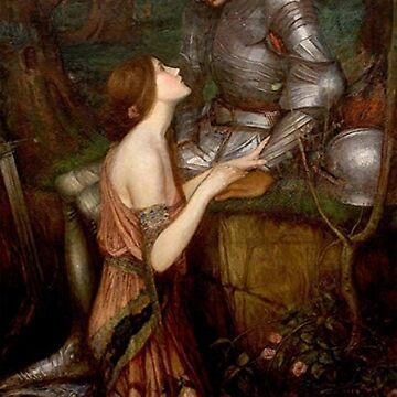 John William Waterhouse Lamia And The Soldier  by historicalstuff