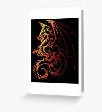 Dragon Space Greeting Card