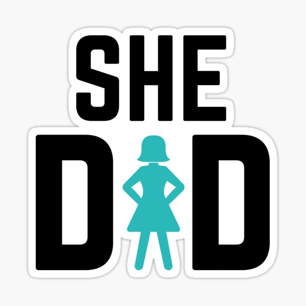 She did Sticker