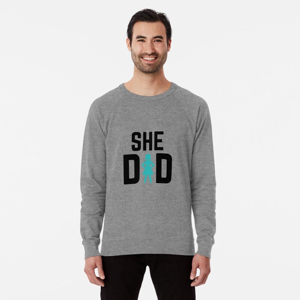 She did Lightweight Sweatshirt