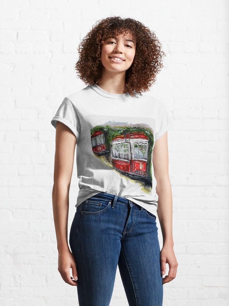 Alternate view of Abandoned Trolley Classic T-Shirt
