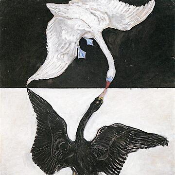 HIlma Af Klint The Swan No. 01 Group IX/SUW by historicalstuff