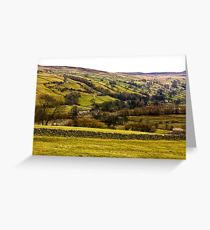 The View from Crackpot. Greeting Card