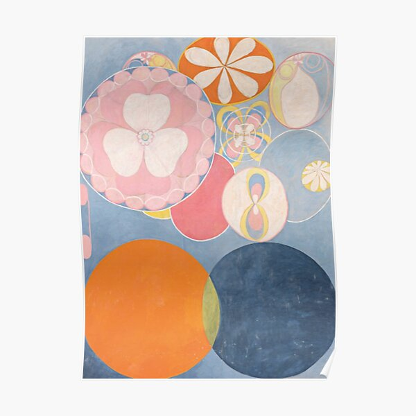 The Ten Biggest No 2 By Hilma Af Klint (FIRST ABSTRACT ARTIST) Poster