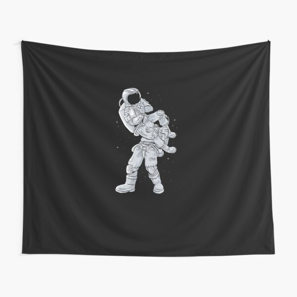 Bjj Astronaut Galactic Flying Armbars  Tapestry