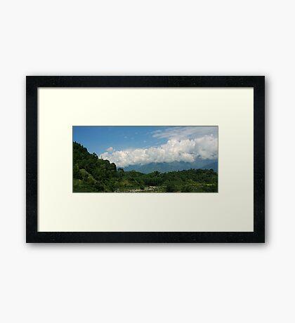 Palampur Kangra Valley Framed Print