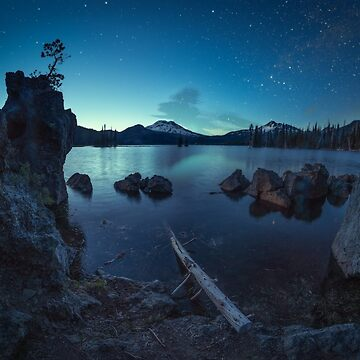 Sparks Lake Milky Way, Oregon by mattmacpherson