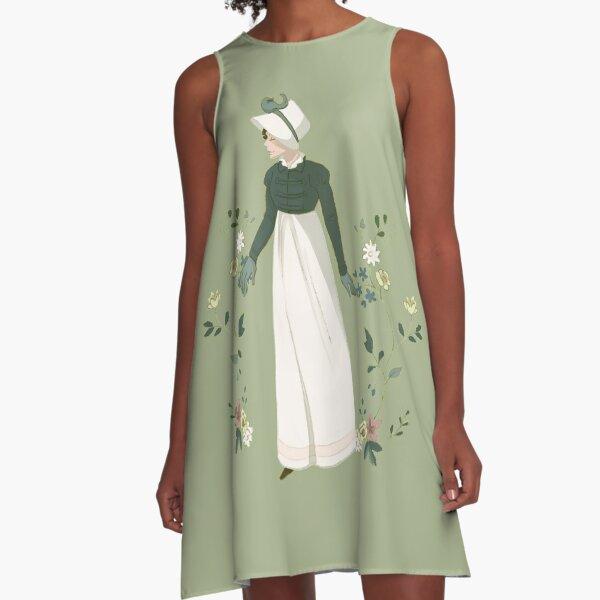 Regency Lady A-Line Dress