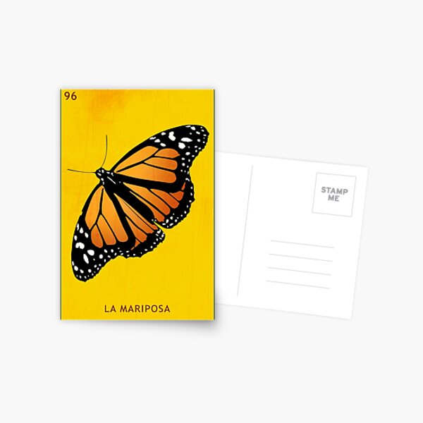 Mariposa Postcard
