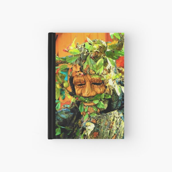 Green Man Hardcover Journal