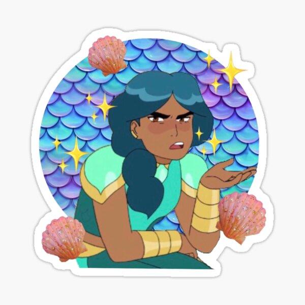 grumpy mermista  Sticker