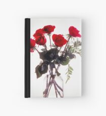 Roses in High Key Hardcover Journal