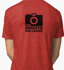 Eats, Shoots & Leaves... Tri-blend T-Shirt